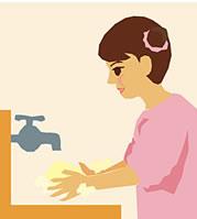 Tゾーンのテカリを解消する洗顔方法